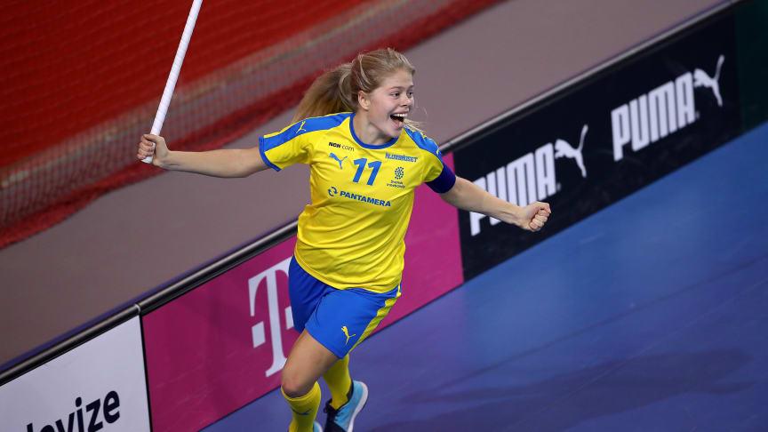 Maja Viström är uttagen till Finnkampen. Foto: Per Wiklund
