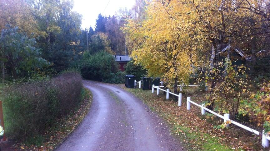 Delar av utbyggnaden av kommunalt vatten och avlopp till Kärreberga senareläggs