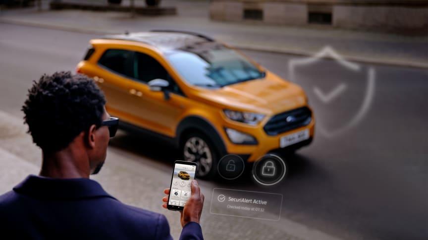 SecuriAlert giver dig øjeblikkelig besked, hvis din bil er udsat for sikkerhedsbrud.