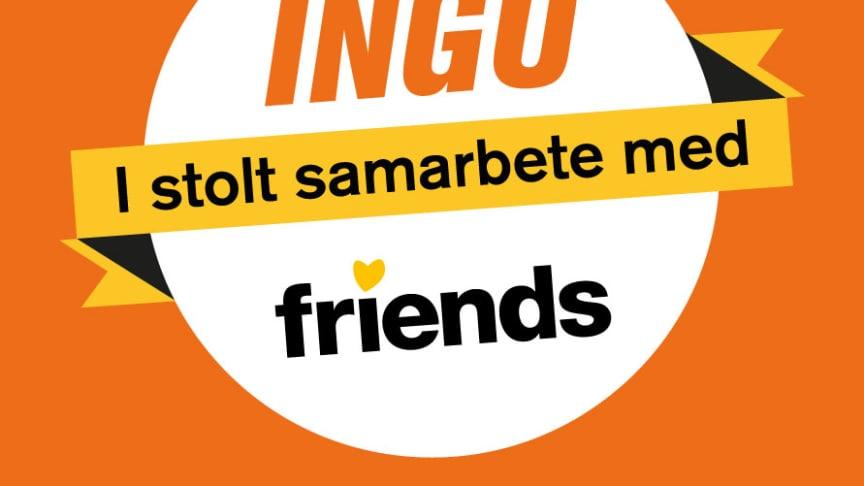 Friends i samarbete med INGO