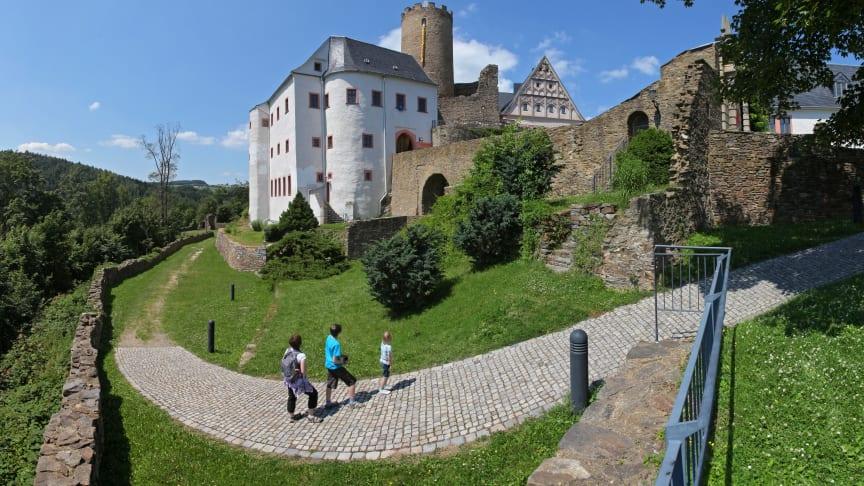 Auch Burg Scharfenstein ( Die Sehenswerten Drei) lädt zu tollen Ausflügen ein