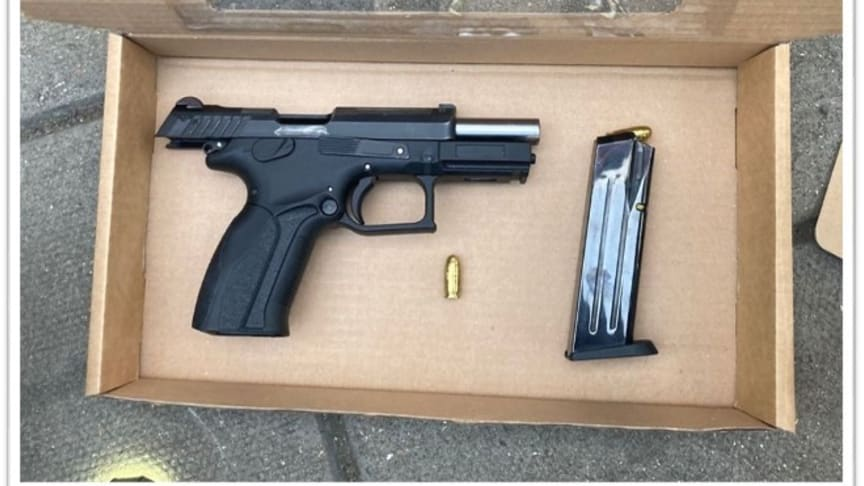 An image of the firearm recovered