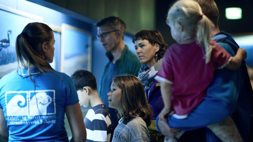 På tværs af museet arbejder vi for at forbedre personligt værtskab