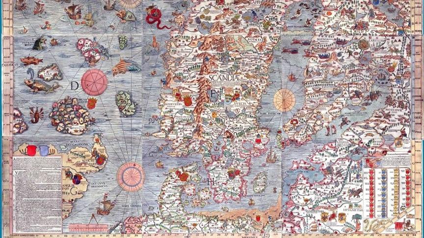 Beskrivelse av virvelstrukturer (meso scale eddies) i havet utenfor Lofoten fra 1539