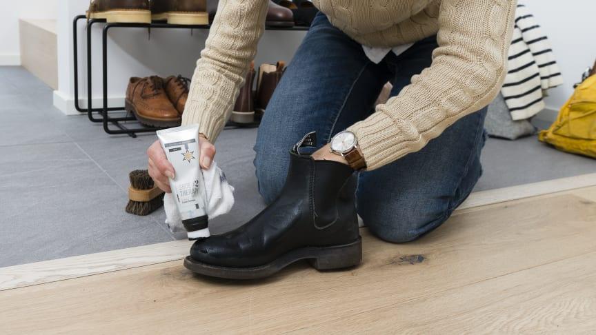 Med skovård kan skorna hålla flera säsonger längre