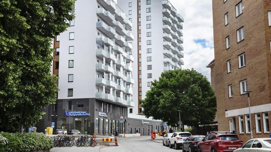 Rösta på Brf Klockarbacken i tävlingen om Huddinges byggnadspris 2018