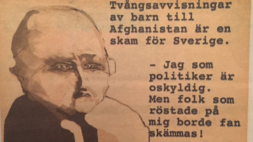 Tack så mycket, Stefan Löfvén, för att vi har svältande småbarn i Sverige!