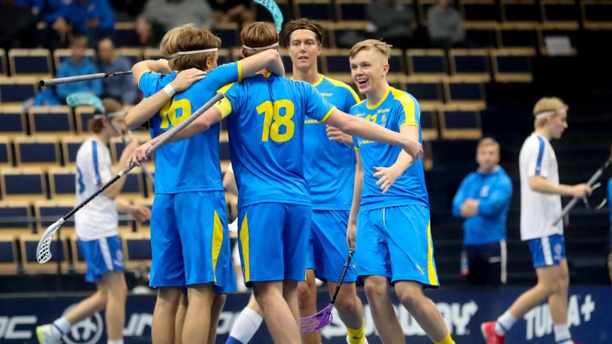U19-herrlandslaget vann EFT. Foto: Juhani Järvenpää