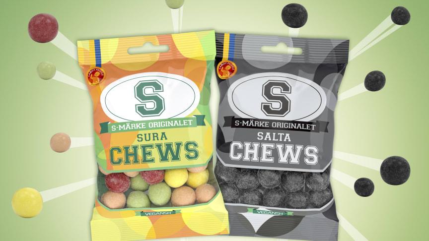 S-Märke sura & salta Chews!