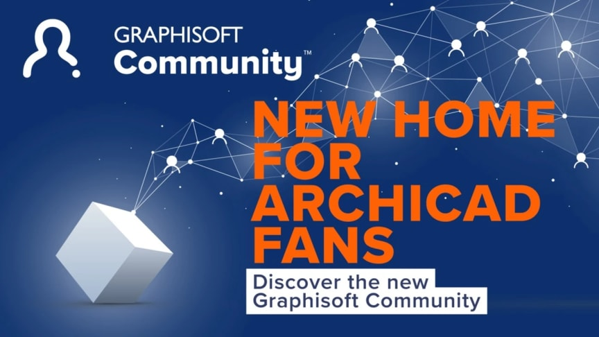 Graphisoft Community makes it faster and easier for Archicad, BIMcloud, and BIMx users to share solutions and get expert help through a state-of-the-art, engaging user experience