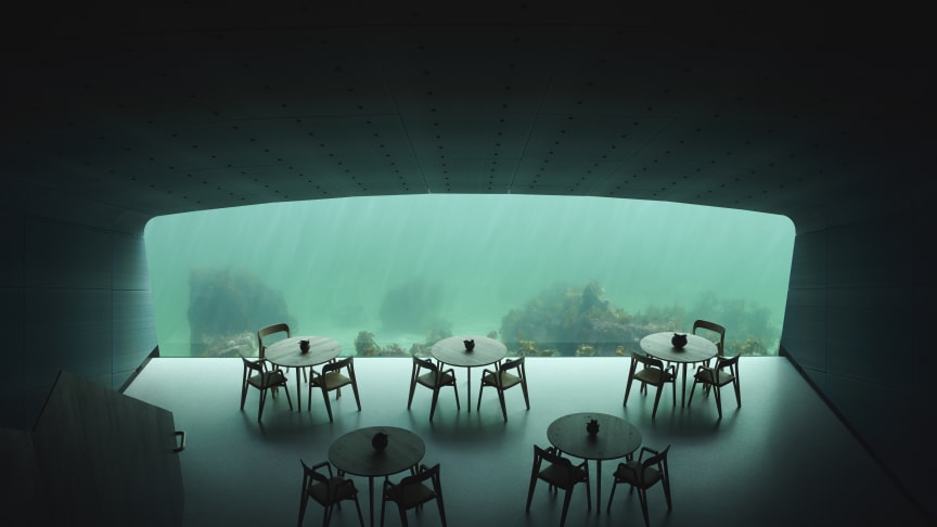 LK Systems delivers heating and tap water solutions to Under in Lindesnes, Norway – Europe's first and the world's largest underwater restaurant.