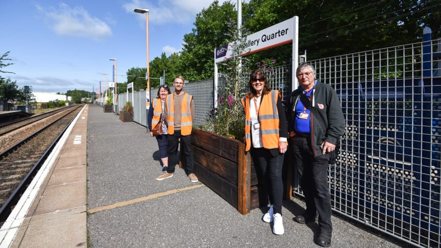 New eco-garden project taking shape at Jewellery Quarter station
