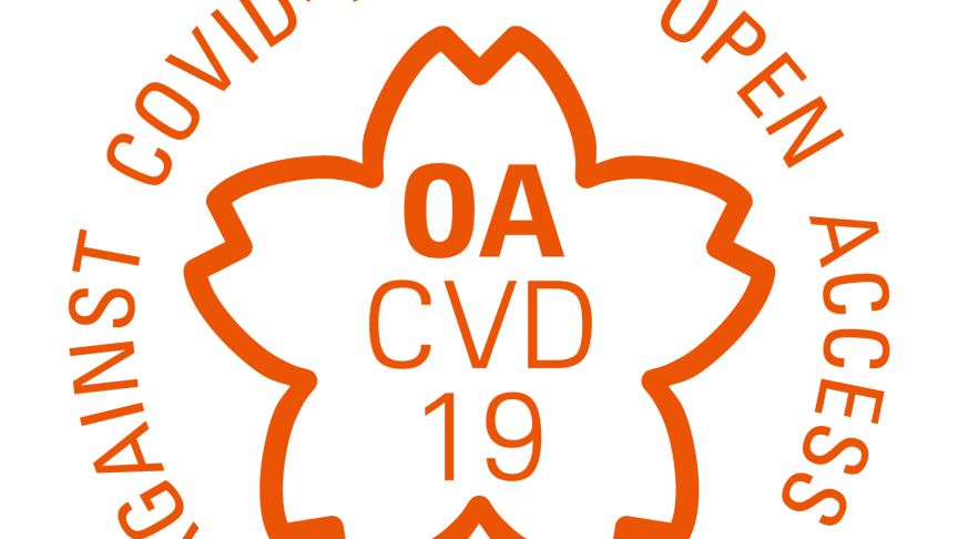 Logo: OA CVD 19 (IP Open Access Declaration Against COVID-19)