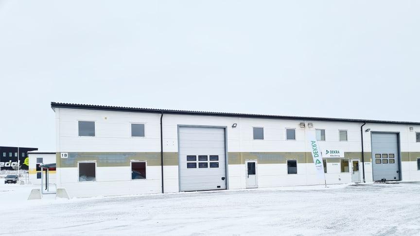 DEKRA har öppnat en ny besiktningsstation i Enköping den 7 januari 2021