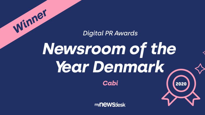 En international jury af kommunikationsfolk har kåret videnshuset Cabi som vinder af Newsroom of The Year.