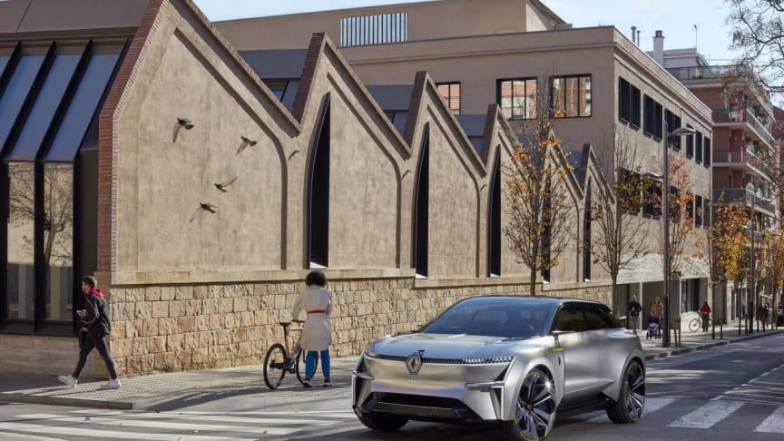 Renault MORPHOZ - ett personligt fordon som kan skräddarsys efter behov