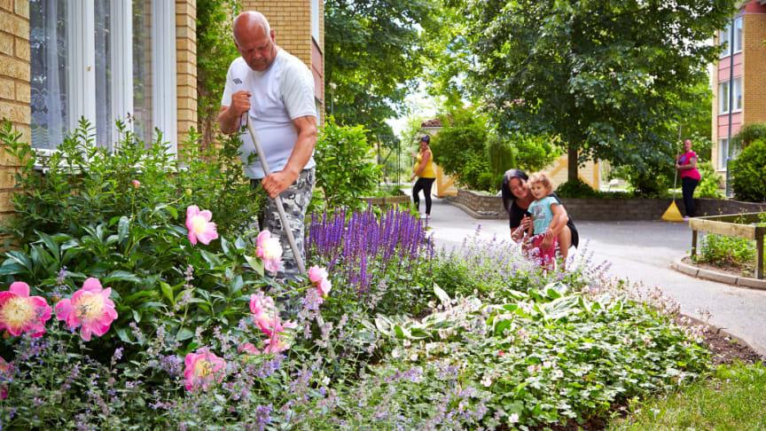 Ett nytt centrum och fler grönområden kommer göra Bäckby till en ännu bättre att stadsdel att bo i.