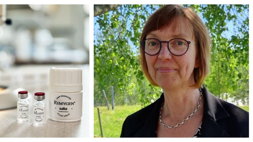 Maja Johansson is new site manager at Diamyd Medical in Umeå.