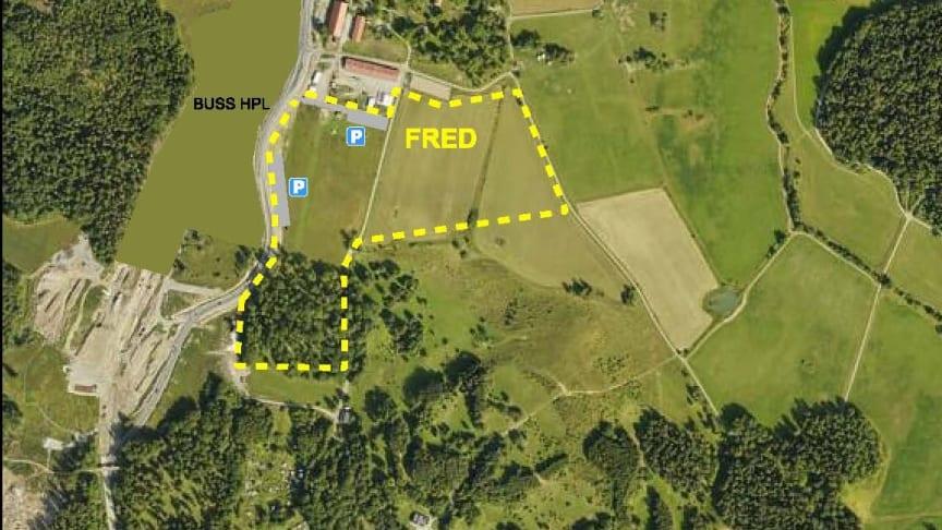 Flygfoto Fred - Låt Parken Levas förslag