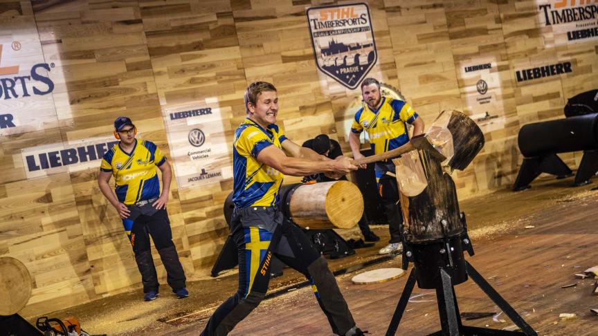 Efter inställda mästerskapet – Sverige står som värd för VM i STIHL TIMBERSPORTS® 2022