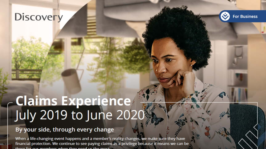 The total of R1.48 billion in group risk claims paid out in 2020 also includes payback rewards – a unique benefit offered through integration with Discovery Vitality.