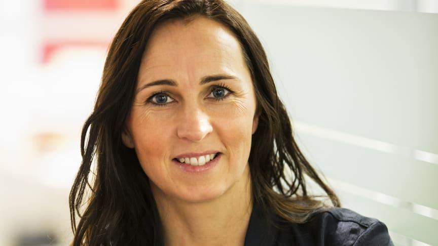 Therese Berg, hållbarhetschef på Riksbyggen