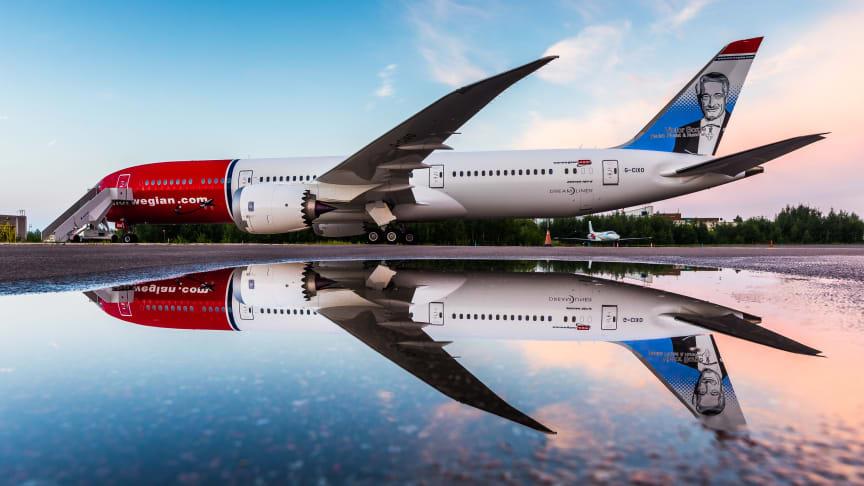 Norwegians Boeing 787 Dreamliner    Foto: David Peacock