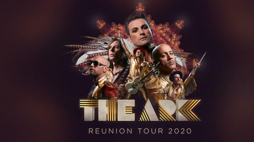 THE ARK - Sveriges färgstarkaste rockband återförenas för en stor sommarturné