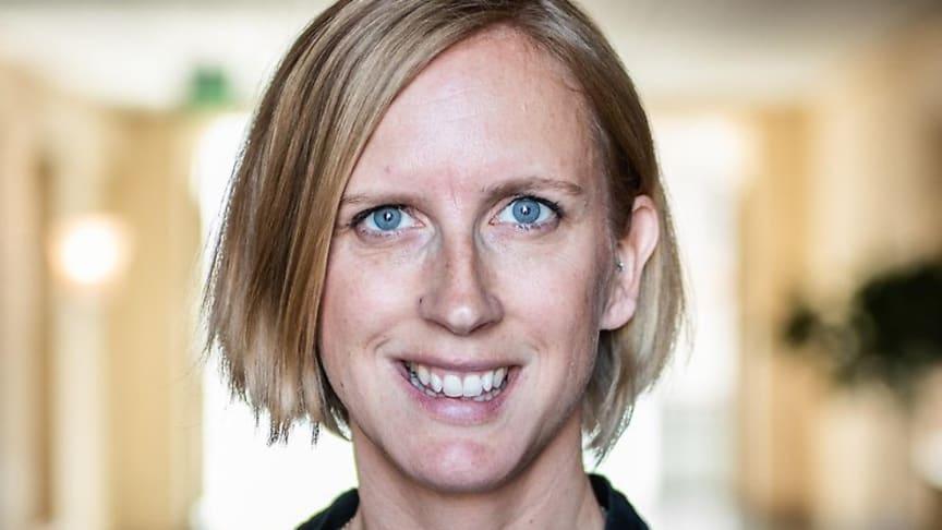Kristin Jakobsson (C) är nytillträdd ordförande i SHIS styrelse,