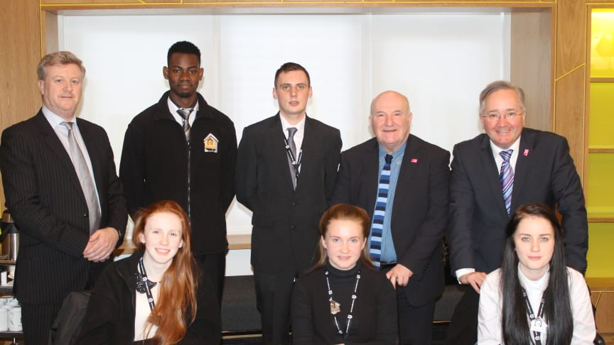 New Commonwealth Apprentices at ng homes in North Glasgow