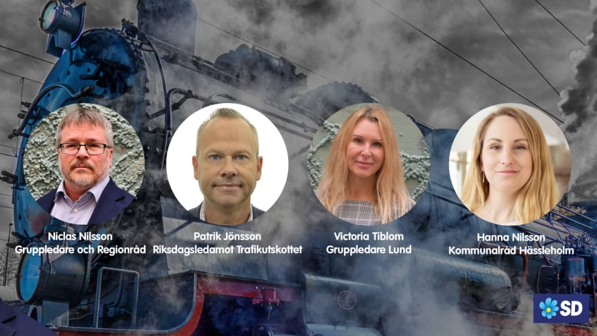 Inga nya bullerkorridorer genom Skåne, bygg den nya stambanan parallellt med den gamla