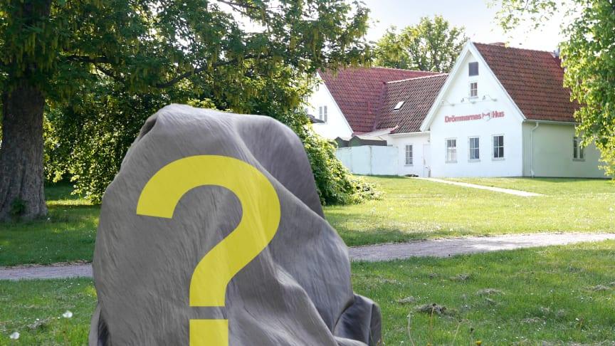 Tre konstverk kommer att avtäckas i grönområden runt Drömmarnas hus på Herrgården - Rosengård.