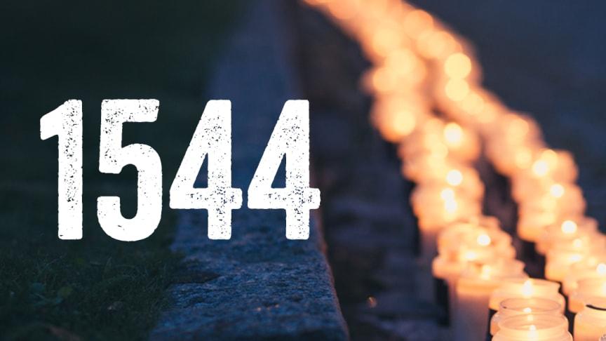 1544 personer tog sina liv under 2017. En ökning med 66 personer jämfört med året innan.
