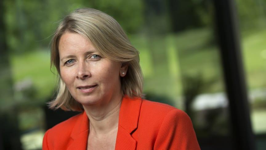Karoline Nystrøm, administrerende direktør i Schneider Electric Norge