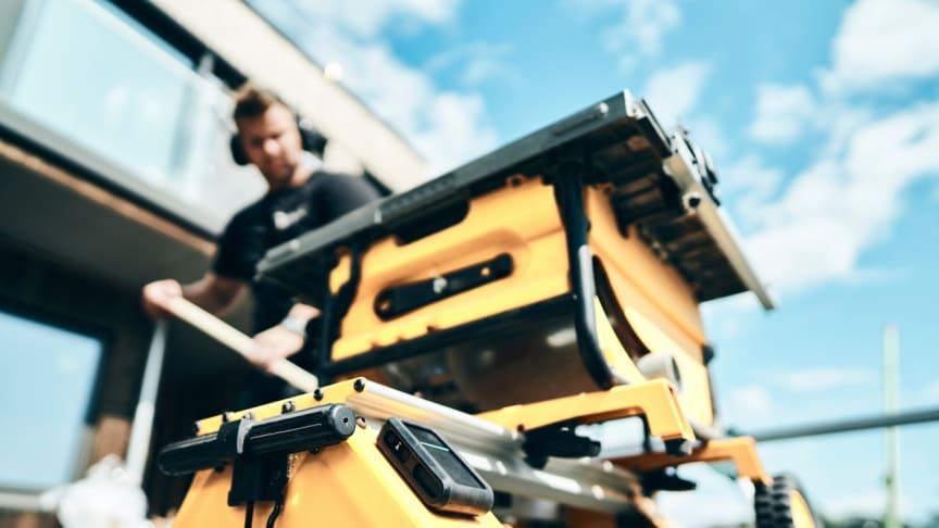 Maskin med ABAX utrustningskontroll. Foto: Morten Rakke
