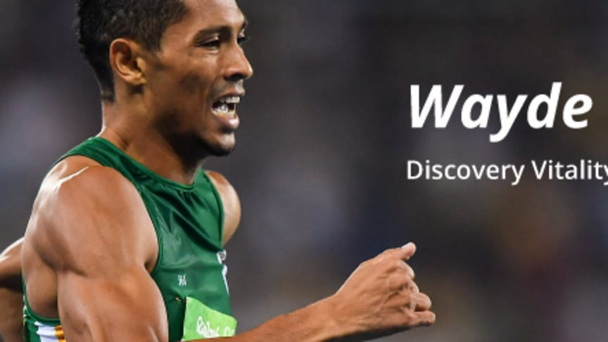 Discovery Vitality teams up with Wayde van Niekerk to help people to get active and lead healthier lives