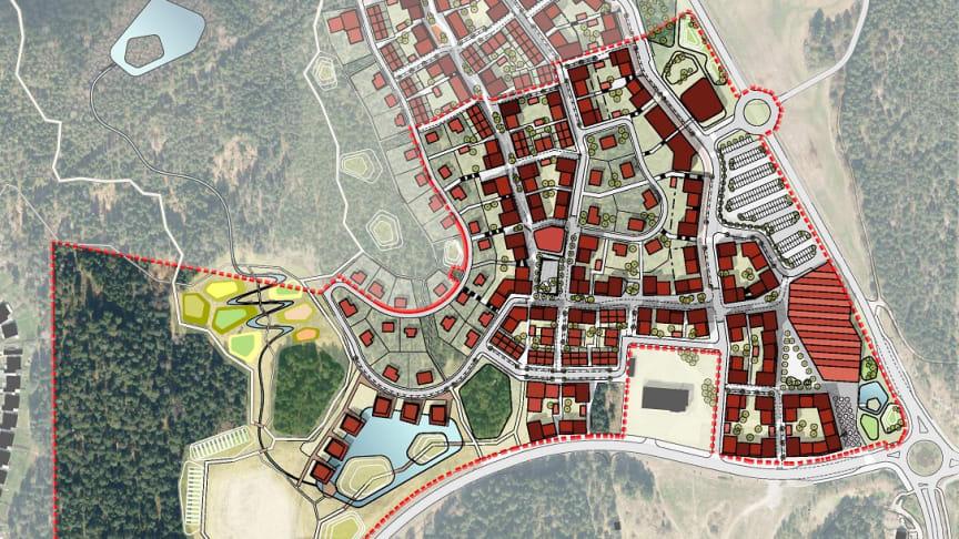 Detaljplan klar för ny stadsdel i Sigtuna