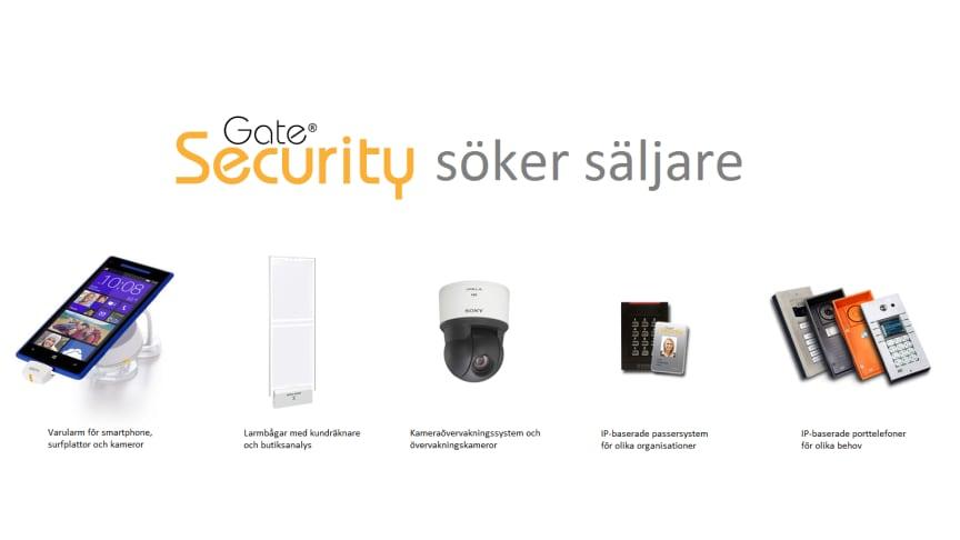 Gate Security söker säljare