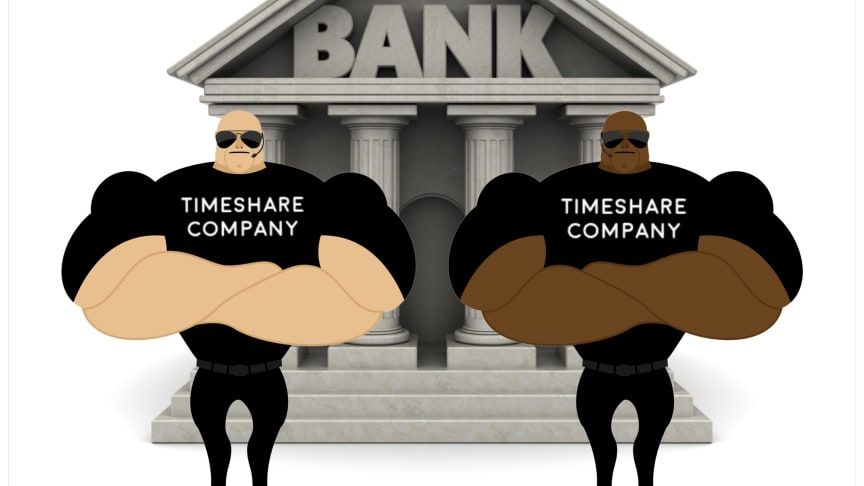 We won't let you leave unless you agree never to sue the banks who worked with us