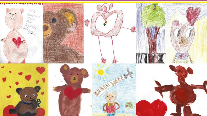Malwettbewerb: Wir suchen den schönsten Bären mit Herz!