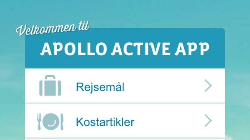 Apollo Rejser lancerer Active app