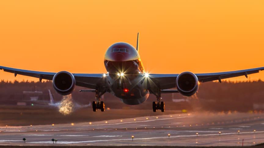 Första direktflyget mellan Stockholm och Puerto Rico i Karibien är i luften