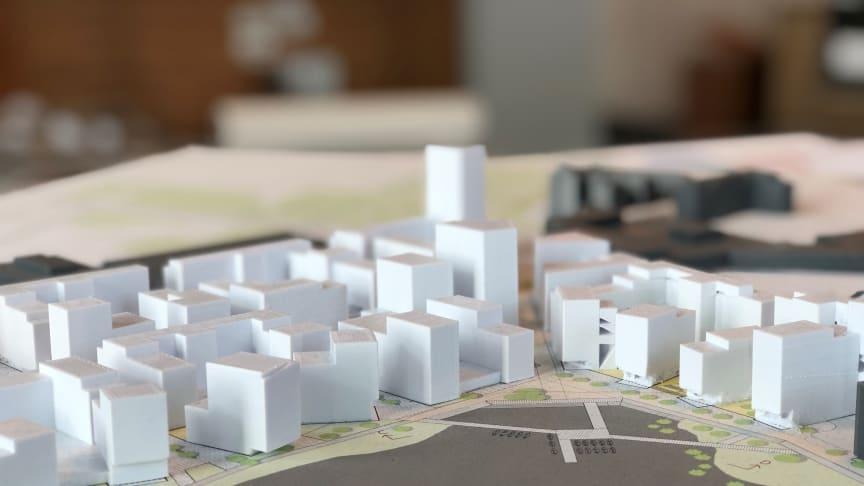 3-d-karta över framtidens Tullholmsvik