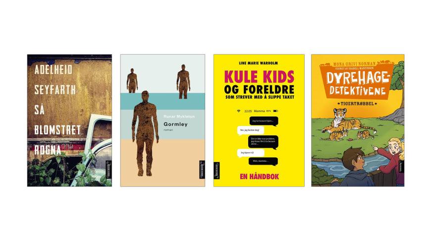 Nye bøker fra Aschehoug forlag uke 9