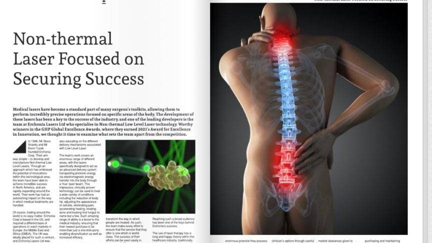 Artikel i Global Health & Pharma Magazine