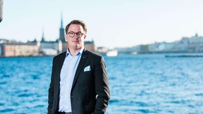 Johan Frisk, VD för Bavaria Bil Sverige, är väldigt glad över förvärvet utav Englunds Bil.