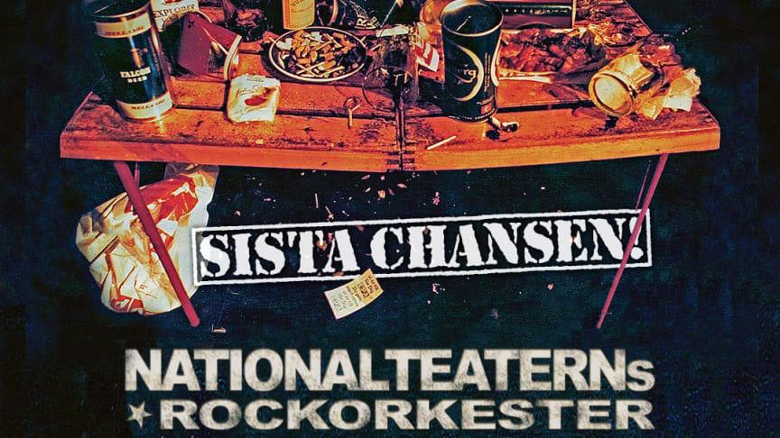 """Stort intresse för Nationalteaterns Rockorkester """"Sista chansen"""" turné våren 2022 - extrakonserter har tillkommit!"""