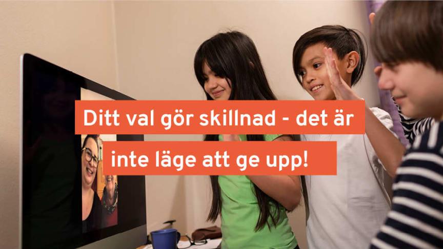 Det är inte läge att ge upp, läget är allvarligt i Sölvesborg. Foto: Skandinav bildbyrå med grafik från Sölvesborgs kommun