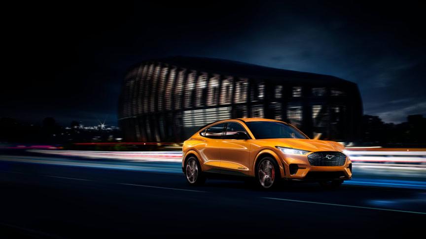 Ingen i klassen er hurtigere end Mustang Mach-E GT