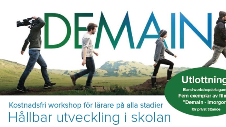 Netsmart och Lärarnas Riksförbund bjuder in till workshop om hållbar utveckling på Skolforum.